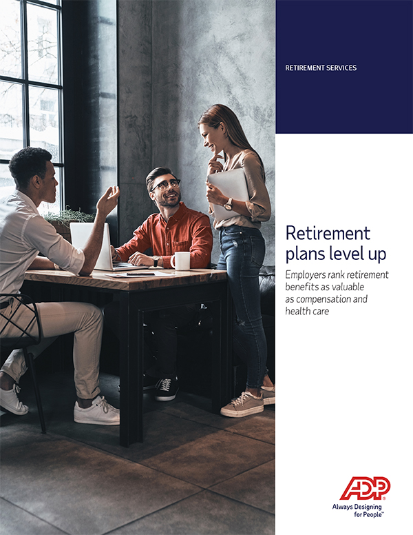 Retirement plans level up–what roles do benefits play?