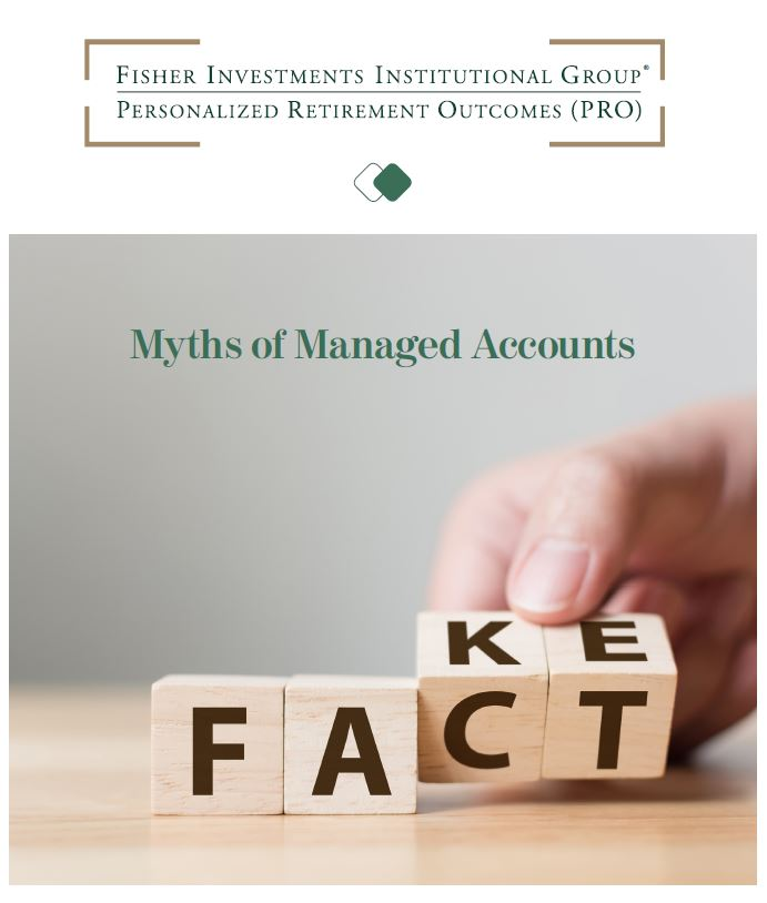 Common myths of retirement managed accounts
