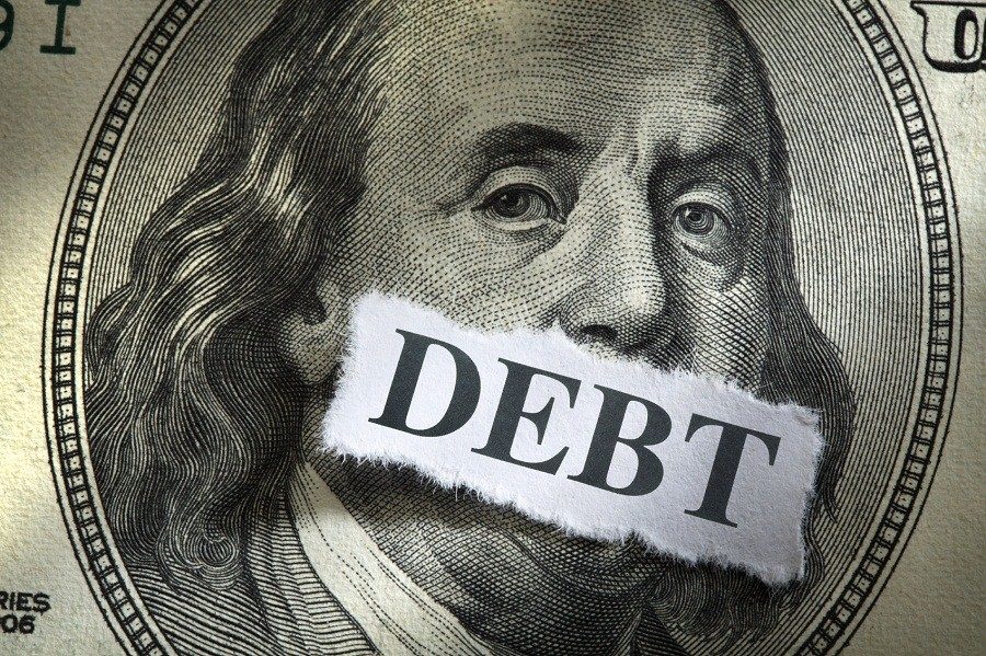 10 states with highest average tax debt
